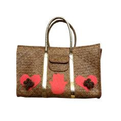 Non-Leather Oversize Bag MANOUSH Beige, camel