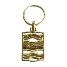 Porte-clés LANVIN Doré, bronze, cuivre