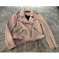 Rose Articles Fuschia amp; Vieux Vestes Manteaux Zara Femme Rose 40R8Xqx