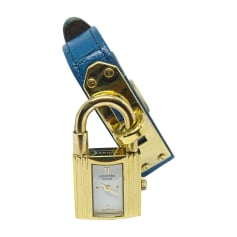 Orologio da polso HERMÈS Kelly Blu, blu navy, turchese