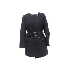 Manteau TARA JARMON Bleu, bleu marine, bleu turquoise