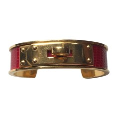 Bracelet HERMÈS Kelly Red, burgundy