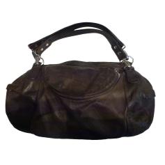 Leather Handbag TEXIER Brown