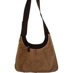 Leather Handbag PRADA Beige, camel