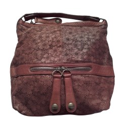 Leather Oversize Bag GERARD DAREL marron moyen