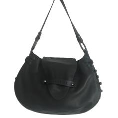Leather Handbag LAMARTHE Black