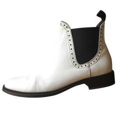 Bottines & low boots à talons CLAUDIE PIERLOT Blanc, blanc cassé, écru