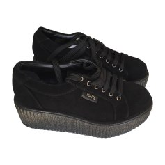 Lace Up Shoes KARL LAGERFELD Black