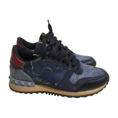 Sneakers VALENTINO Blue, navy, turquoise