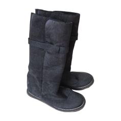 Flat Boots STELLA MCCARTNEY Black