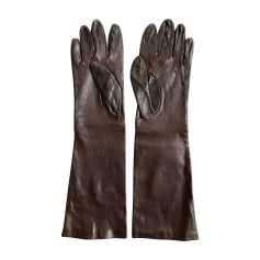 Gloves ESCADA Brown