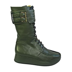 Wedge Boots STEPHANE KÉLIAN Khaki