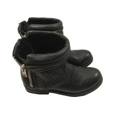 Biker Ankle Boots ASH Black