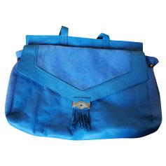 Borsetta in pelle PETITE MENDIGOTE Blu, blu navy, turchese