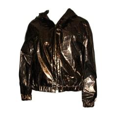 Zipped Jacket ESCADA Golden, bronze, copper