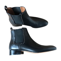 High Heel Ankle Boots GIVENCHY Black