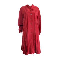 Coat CARVEN Red, burgundy