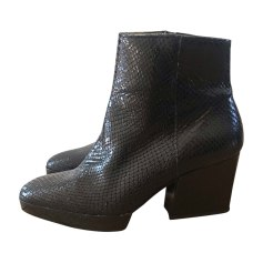 High Heel Ankle Boots ROBERT CLERGERIE Black