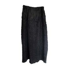 Maxi Skirt ISSEY MIYAKE Black