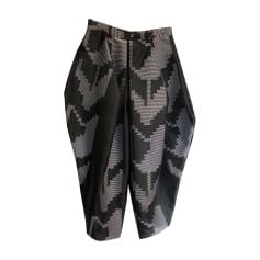 Wide Leg Pants ISSEY MIYAKE Black