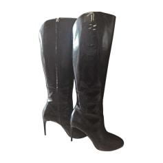 Stivali con tacchi GUCCI Nero