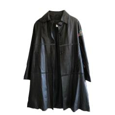 Cappotto di pelle CHACOK Nero