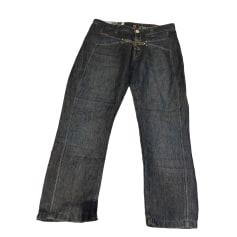 Pantalone dritto MARITHÉ ET FRANÇOIS GIRBAUD Blu, blu navy, turchese