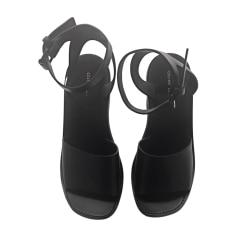 Sandali con tacchi CÉLINE Nero
