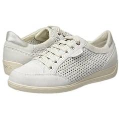 Baskets GEOX Blanc, blanc cassé, écru