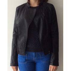 Vestes en cuir Grain de Malice Femme   articles tendance - Videdressing 17ddebf4d530