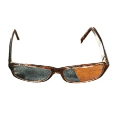 b8dafbc7617 Montures de lunettes Chanel Femme Marron   articles luxe - Videdressing