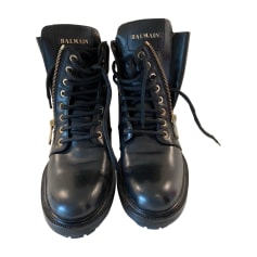 Femme Chaussures Balmain Luxe Articles Videdressing Occasion axYqw5R