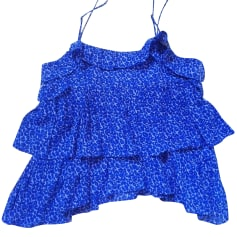 Top, t-shirt SANDRO Blu, blu navy, turchese