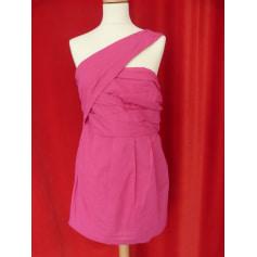 Robe courte ASOS PETITE Rose, fuschia, vieux rose