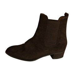 High Heel Ankle Boots CHURCH'S Brown