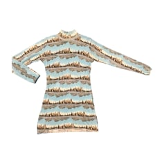 Robe pull BARBARA BUI Bleu, bleu marine, bleu turquoise
