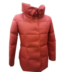 Down Jacket LACOSTE Red, burgundy