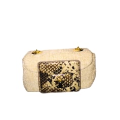 Non-Leather Shoulder Bag LOVE MOSCHINO Beige, camel