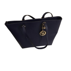 Leather Oversize Bag GUESS Blue, navy, turquoise