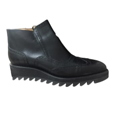 Flat Ankle Boots FREE LANCE Black