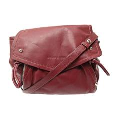 Leather Shoulder Bag SONIA RYKIEL Red, burgundy