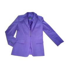 Jacket PACO RABANNE Purple, mauve, lavender