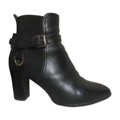 High Heel Ankle Boots RALPH LAUREN Black