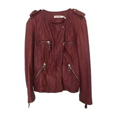 Zipped Jacket ISABEL MARANT ETOILE Red, burgundy