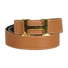 Ceinture large HERMÈS Brown
