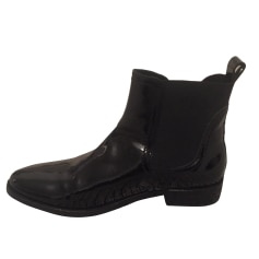 Bottines & low boots plates CLAUDIE PIERLOT Noir