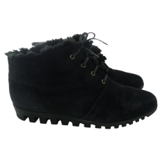 Bottines & low boots plates ARCHE Noir