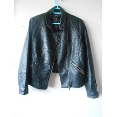 Manteaux   Vestes Cache Cache Femme Simili cuir   articles tendance ... ab694ccb450f