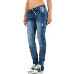Jeans large, boyfriend Place Du Jour  pas cher