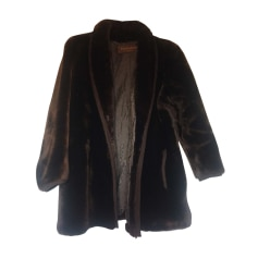 Manteaux en fourrure Yves Saint Laurent Femme   articles luxe ... 59bf6b2c77b6